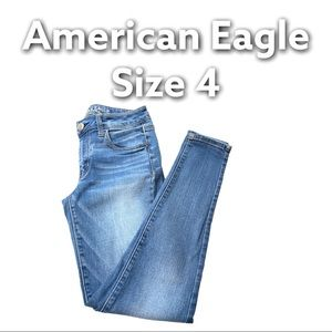American Eagle   Super Stretch Mid Rise Jeggings